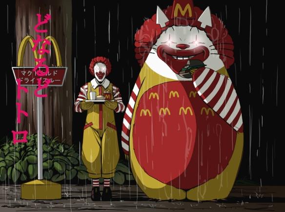 McDonalds+Totoro