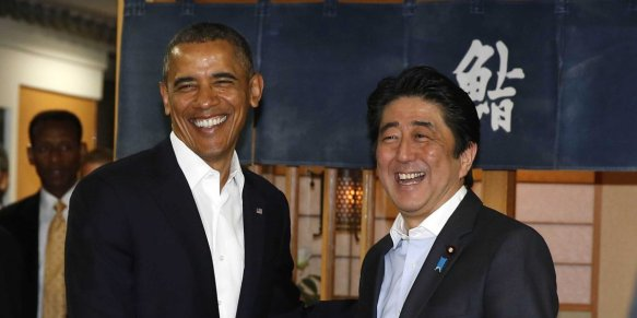 obama-outside-sukiyabashi-jiro